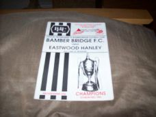 Bamber Bridge v Eastwood Hanley, 1992/93